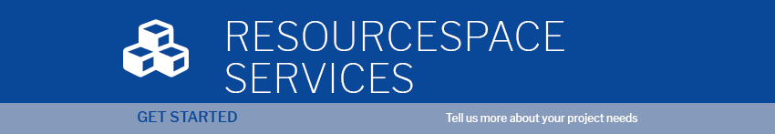 ResourceSpace services