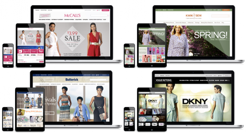 Drupal Commerce Implementation for The McCall Pattern Company | DPCI