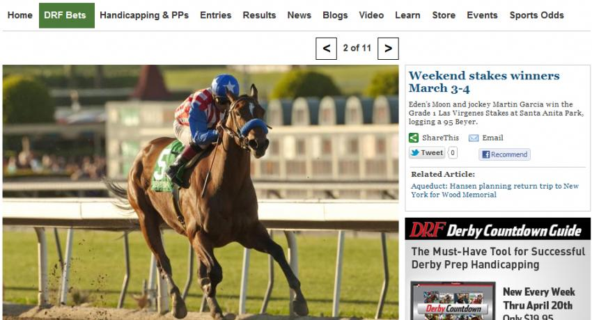 Drupal Consulting for the Daily Racing Form | DPCI
