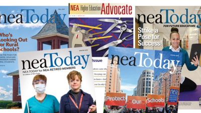 NEA Magazine Covers