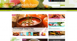 The Latin Kitchen Home Page